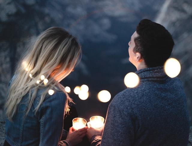 romantika při světýlkách