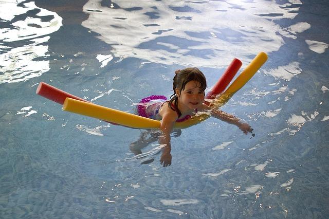 pěna na plavání