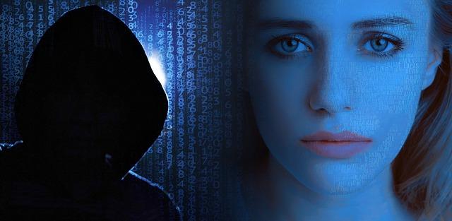 Maskovaný muž a žena