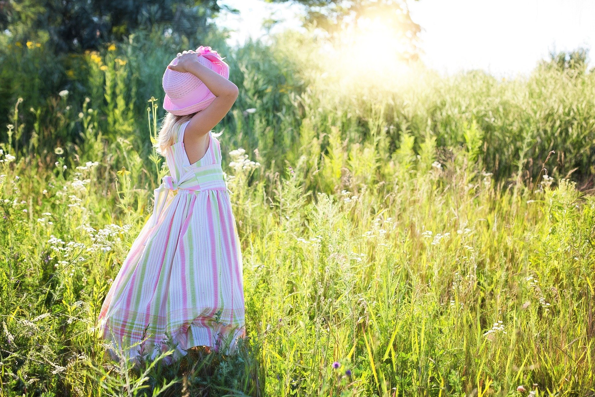 dítě v přírodě